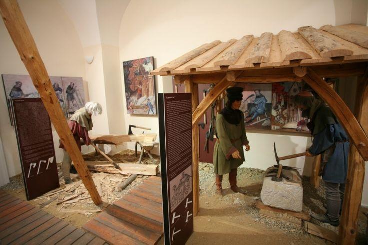 Kamenická huť   Muzeum Karlova mostu