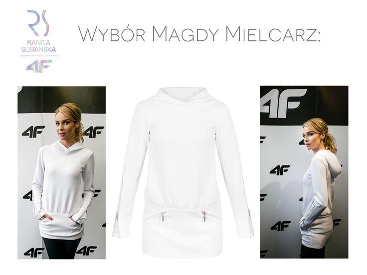 Magdalena Mielcarz, nowa ambasadorka marki 4F, przyzwyczaiła nas do stylizacji w stylu glamour, jednak równie olśniewająco wygląda w sportowej propozycji z metką RSx4F.  Jak Wam się podoba wybór gwiazdy?
