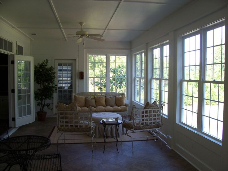 Superior Remodel Project   Screen Porch Before Being Converted Into A Beautiful  Sunroom/ Sun Porch.