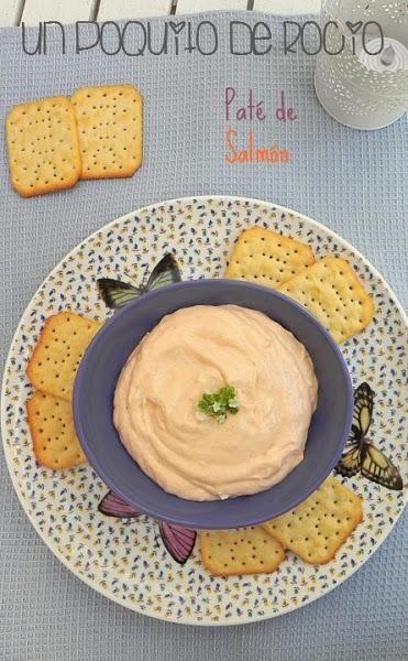 Paté de salmón. Descubre cómo hacer este paté casero que comparten desde el blog Un Poquito de Rocío y con el que quedarás genial en la próxima reunión con familiares o amigos.