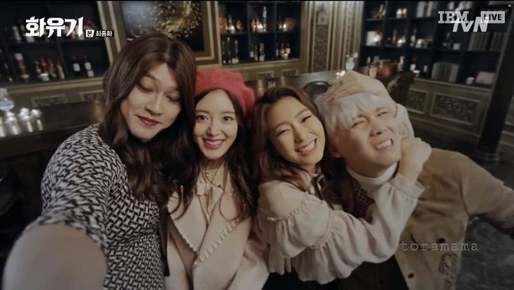 Peri Ha, Jin Bu Ja, Alice, and PK