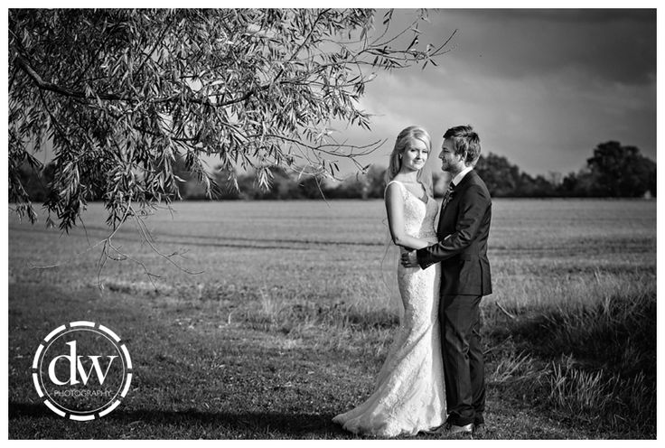 Bride and groom portrait at The Granary Barns, Sufolk
