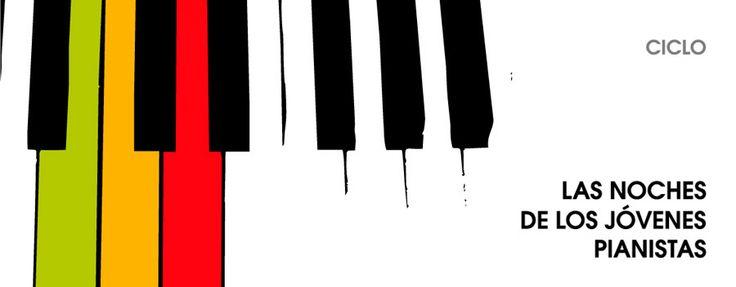 """Diseño y composición. VI edición del ciclo """"Las noches de los jóvenes pianistas"""" del Centro Cívico Universidad -Ayuntamiento de Zaragoza-. 2013"""