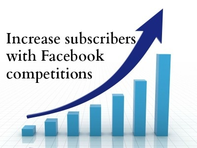 5 different types of competitions you can run to help build your e-mail subscribers through Facebook.