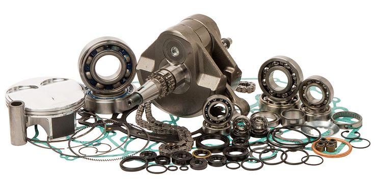 Wrench Rabbit WR101-046 Complete Engine Rebuild Kit for 2010-12 Kawasaki KX450F