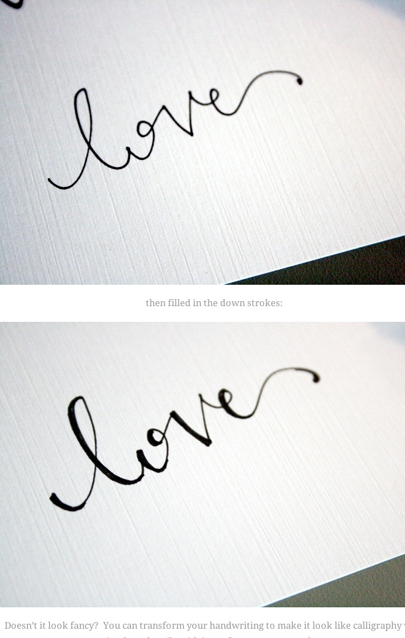 Best 25 Fake Calligraphy Ideas On Pinterest How To
