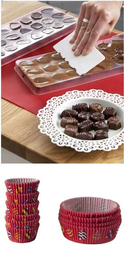 Sugar, spice and all things nice. Impress family and friends by making your own tasty confections this holiday. SNÖKUL chocolate molds and paper cups will help you get started.