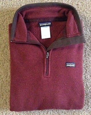 Patagonia Womens Quarter Zip Sweater Pullover Sz M / c