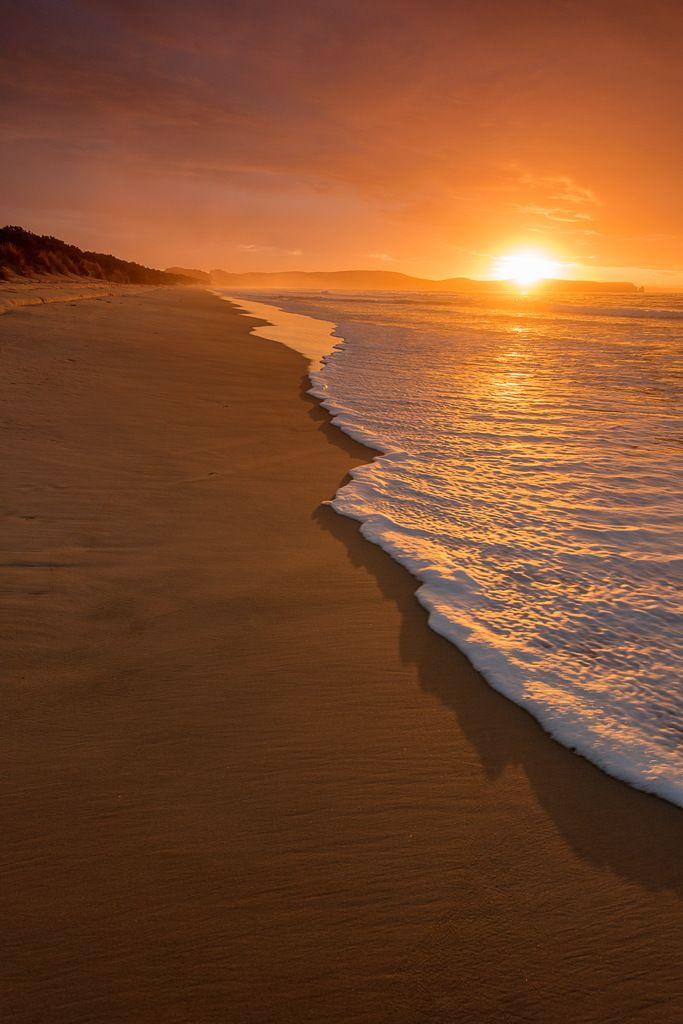 Sunrise Over Cape Queen Elizabeth, Bruny Island Tasmania