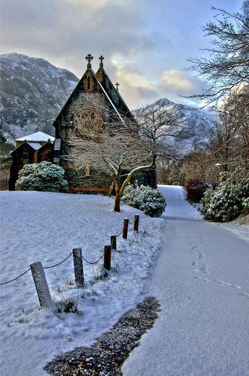St. Mary and St. Finnan's Catholic Church, Glenfinnan, Scotland
