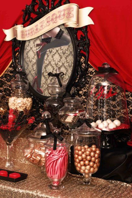 """Burlesque Cocktail Party or """"Prohibition Party""""! Such cute ideas :)"""