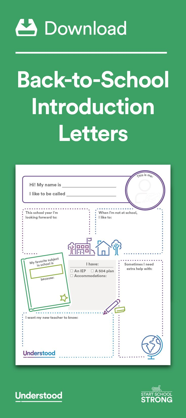 Writing a back-to-school introduction letter to your child's teacher can help get the school year off to a good start. It's also a great way to start building a positive relationship.