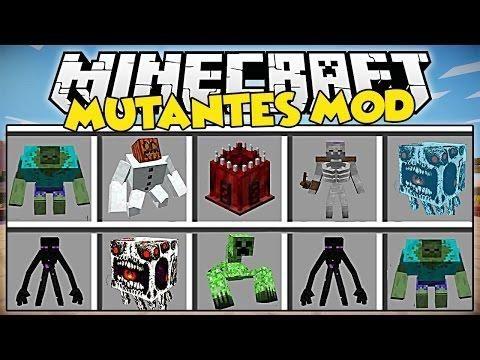 MINECRAFT MODS   LOS MUTANTES MAS HORRIBLES Y TEMIDOS DE MINECRAFT   Minecraft Mods 1.7.10