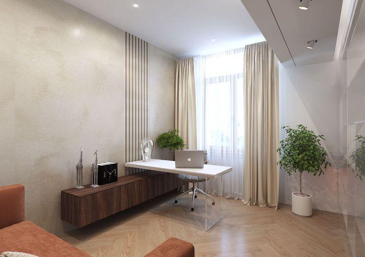 Apartment Displaying Neutral Tones by Shamsudin Kerimov http://interiorsxdesign.com/2017/09/06/apartment-neutral-tones-by-shamsudin-kerimov/