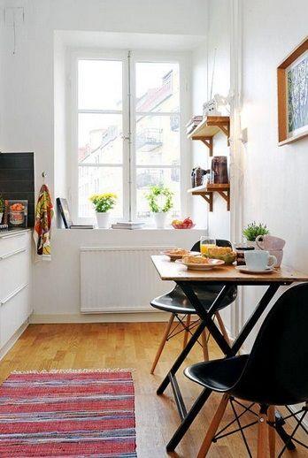 Mesas para cocinas pequeñas en 2019 | Decoración comercial | Mesas ...