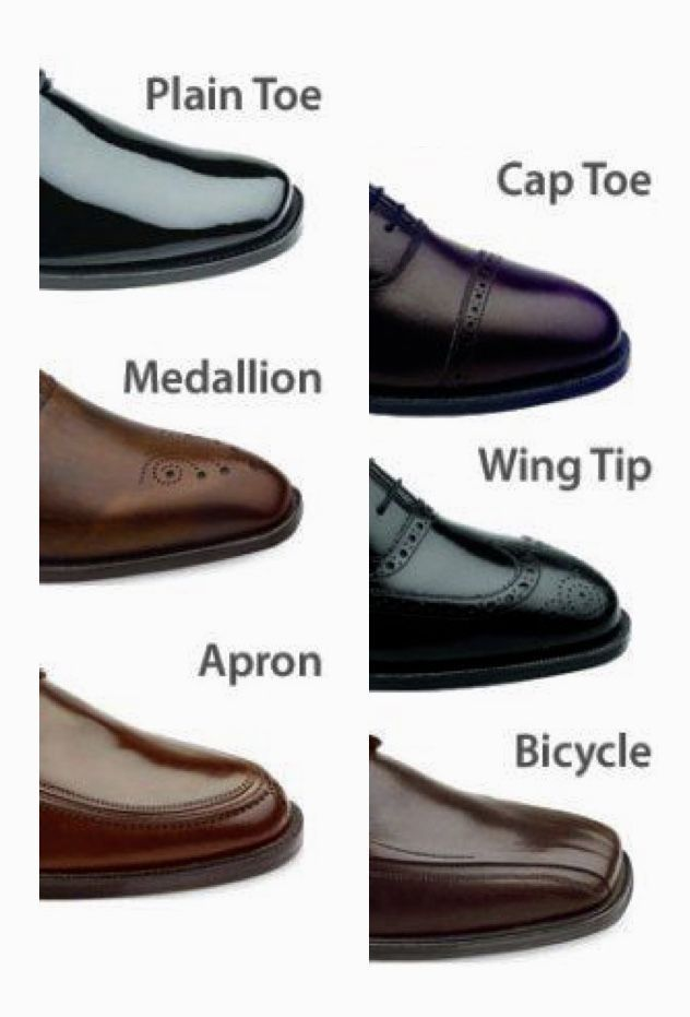 Need to know: Simple Guide to Dress Shoe Styles! More Fashion Tips @ rickysturn/mens-fashion