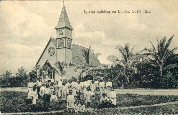 Resultado de imagen para antigua Iglesia catolica  de limón, costa rica