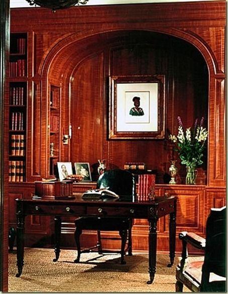 Beautiful mahogany.