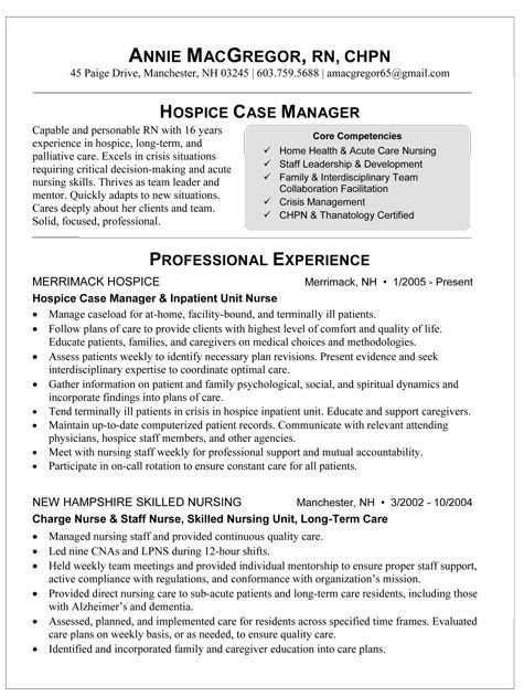 86 best Resume Ideas for Nurses images on Pinterest Productivity - hospice nurse sample resume