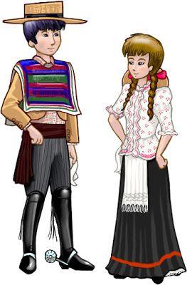 Material didactico para las fiestas patrias, colorear dibujos   conozcamos chile