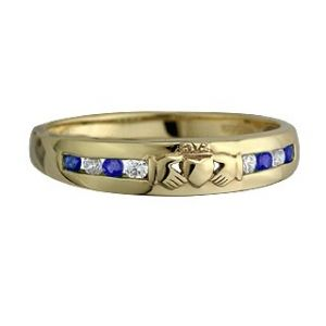 Gold Claddagh Rings for Men   ... claddagh ring $ 1235 00 14k white gold diamond anniversary claddagh