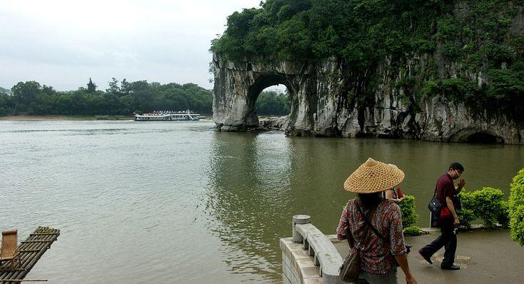China, Guilin - Colina da Tromba de Elefante