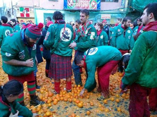 Carnevale d'Ivrea, i Tuchini di Borghetto