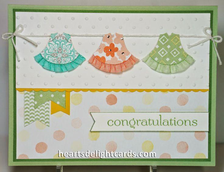 Heart's Delight Cards: Sweet Baby Girl
