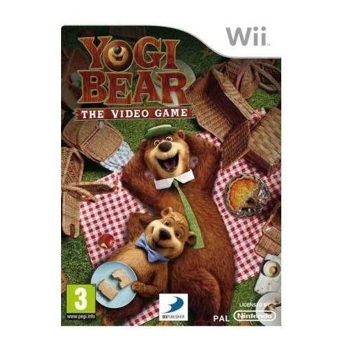L Orso Yoghi (Yogi Bear)   WII NUOVO!!!