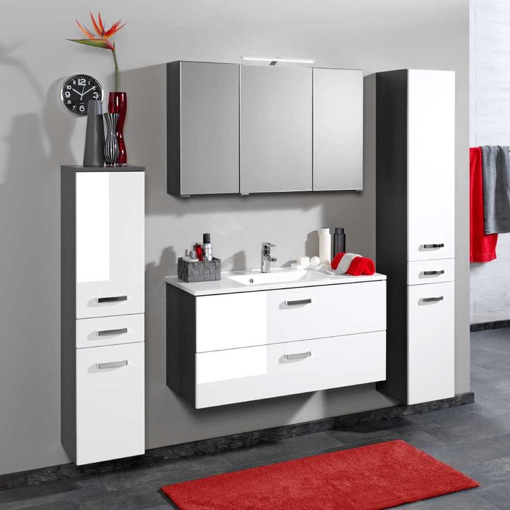 Oltre 25 fantastiche idee su Badezimmer grau weiß su Pinterest - weißes badezimmer verschönern
