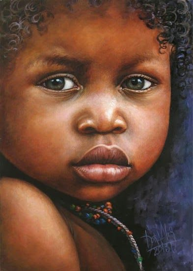 Pintura y Fotografía Artística : Retratos al Óleo de Niños ...