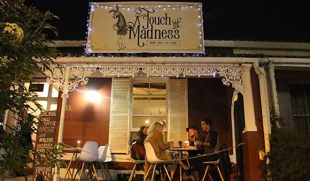 A Touch of Madness Restaurant and Bar in Observatory.  This much-loved Cape Town haunt is revived and renewed serving great craft beers and simple global fare. Read more here: http://www.capetownmagazine.com/a-touch-of-madness Check out more New Hot-spots on our website: http://www.capetownmagazine.com/hot-spots-in-cape-town