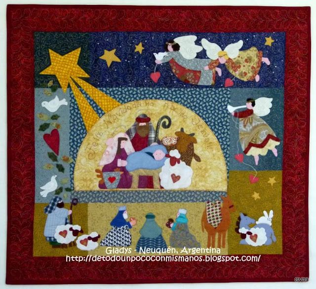 10 best ideas about patchwork navidad on pinterest - Patchwork en casa patrones gratis ...
