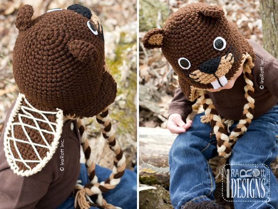 CROCHET PATTERN Canadian Justin The Beaver Hat Crochet PDF