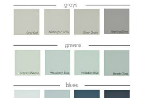 Best Selling Benjamin Moore Paint Colors