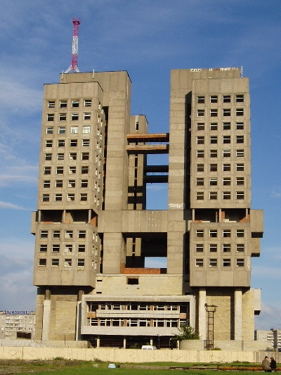 The Soviet palast in Kaliningrad - The ugliest building of Europe