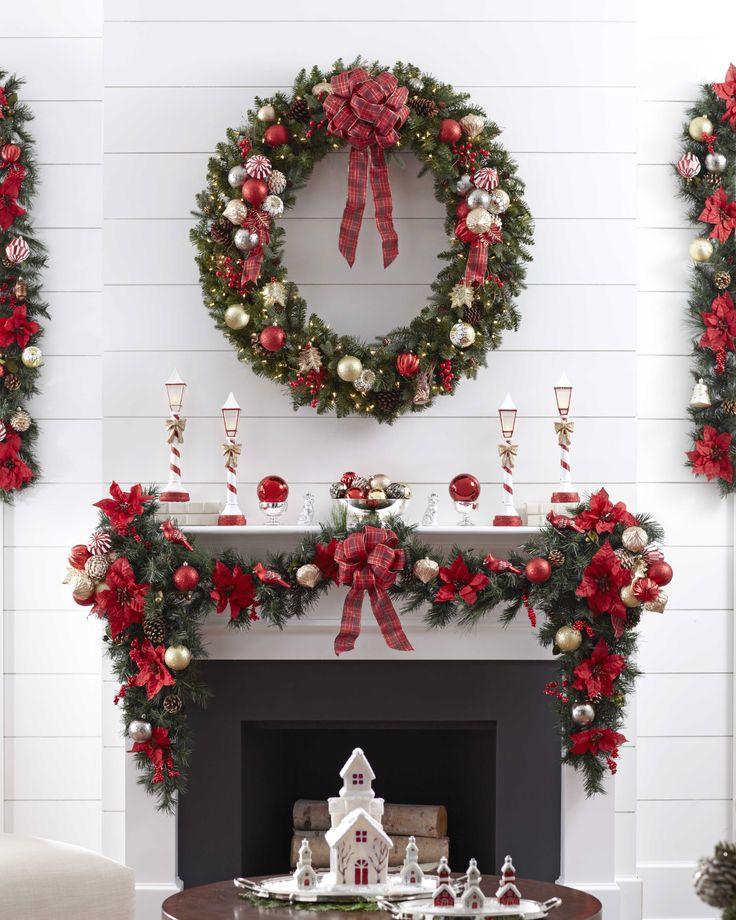 Fireplace Design cardboard christmas fireplace : 394 best Christmas Decoration images on Pinterest