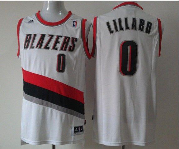 Portland Trail Blazers White Jersey