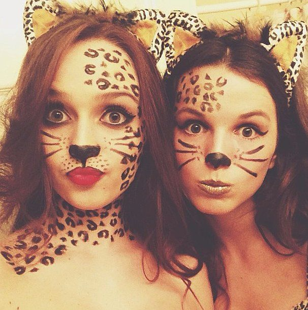 """Take a different approach to the feline costume by nixing the standard black cat look and opting for wild-cat prints — you'll be bringing """"cattitude"""" to a whole new level."""