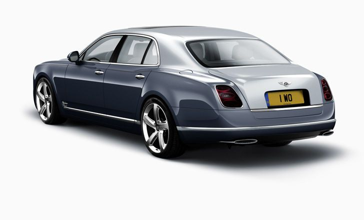 Bentley Mulsanne Speed - Fountain Blue over Meteor ...