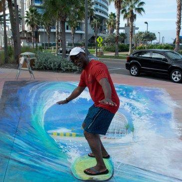 Clearwater, FL, Chalk Walk