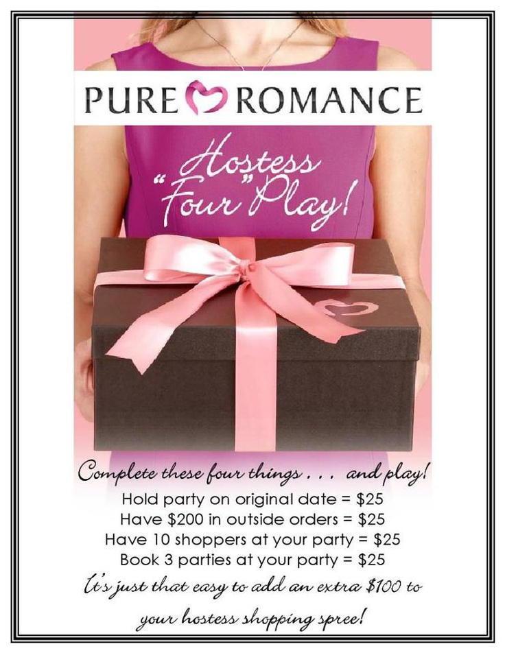 Pure Romance Hostess Four Play...Book your Pure Romance by Msgallion party today!!! 2404136285 prbymsgallion@gmail.com