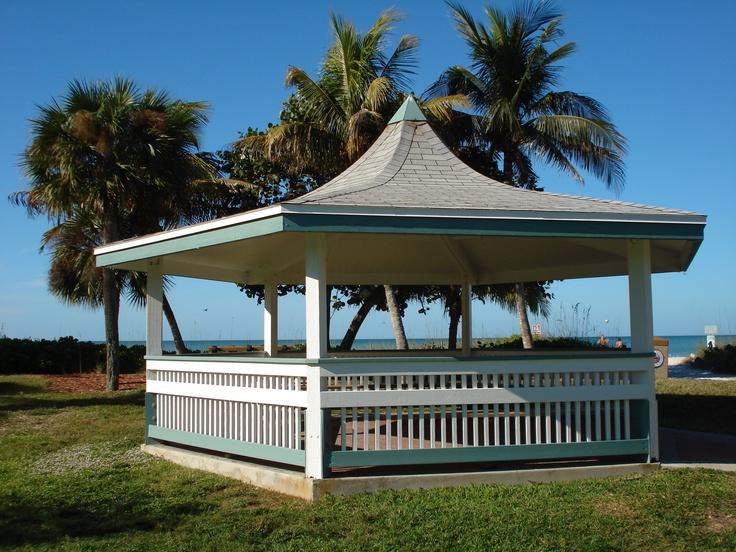 Lowdermilk Park Gazebo, Naples Florida