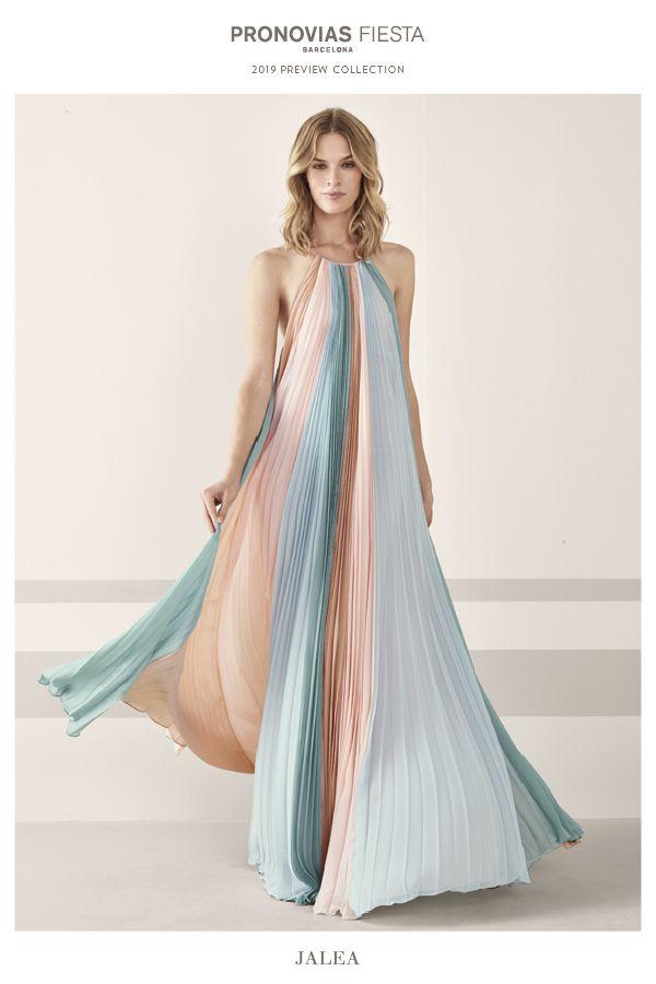 12e82670a6eab Jalea dress - preview  PronoviasCocktail2019 collection Vestidos De Gala