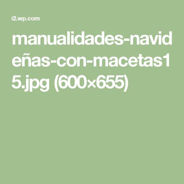 manualidades-navideñas-con-macetas15.jpg (600×655)