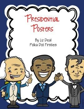 Sweet Treats: Presidential Posters by The Primary Peach