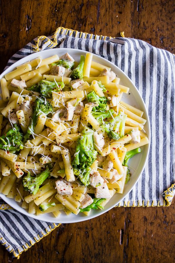 This chicken broccoli ziti is a delicious weeknight dinner. Ready in 30 minutes…