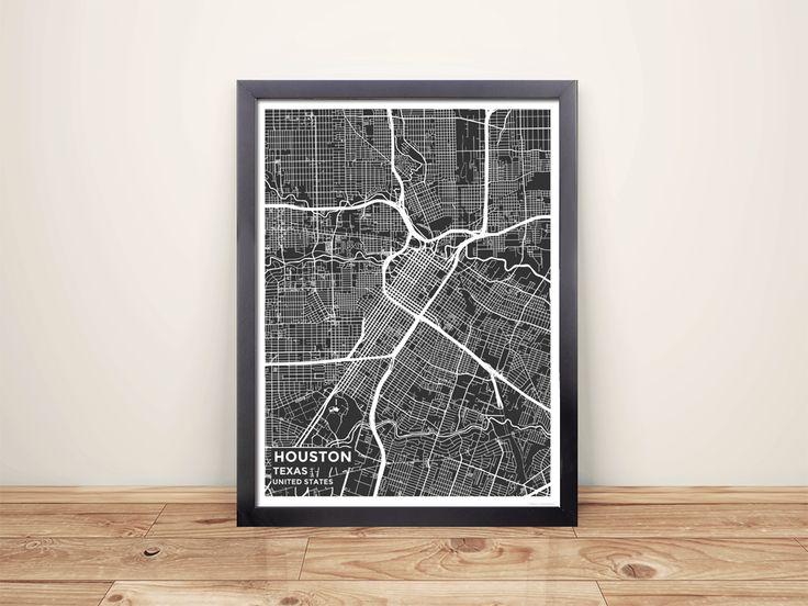 Best 25 Map of houston texas ideas on Pinterest Texas city map