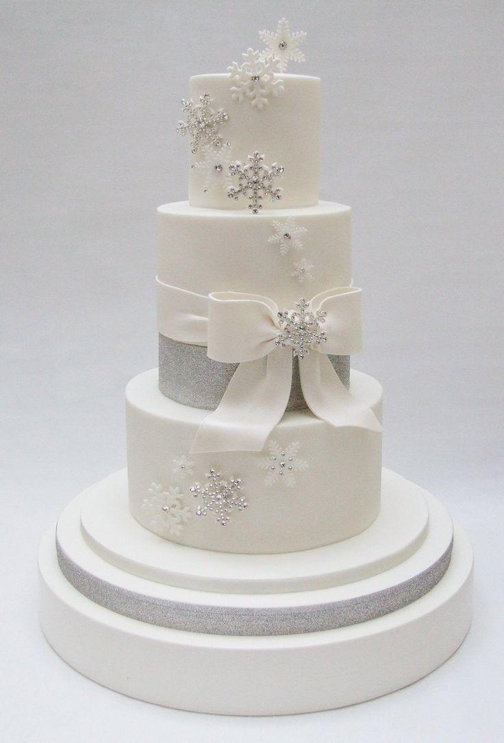 winter wedding snowflakes: Emma Jayne Cake Design, facebook