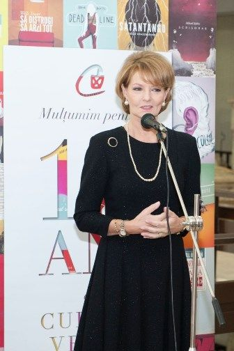 Noblesse & Royautés:  Crown Princess Margareta of Romania at the Museum of Natural History in Bucharest, Romania
